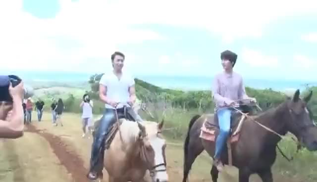 Watch kyumin riding horse GIF on Gfycat. Discover more kyuhyun, kyumin, sungmin, super junior GIFs on Gfycat