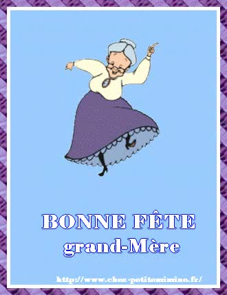 Watch and share Gif Fête Des Grand-mères GIFs on Gfycat