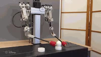 Robot moving an egg. : Unexpected GIFs
