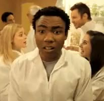 Watch and share Donald Glover GIFs and Community GIFs on Gfycat