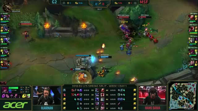Watch G2 vs MSF - EU LCS 2018 Spring - G2 Esports vs Misfits GIF on Gfycat. Discover more related GIFs on Gfycat