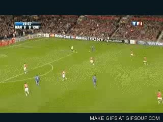 Watch and share Van Der Sar Tackle On Anelka GIFs on Gfycat
