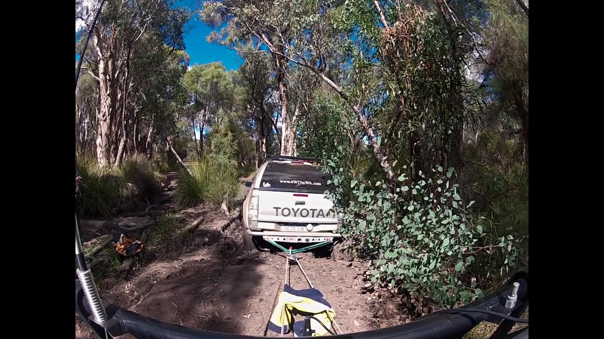 4wdinwa.com, mundaring recovery, winch recovery, 4x4 offroad Winch Recovery GIFs