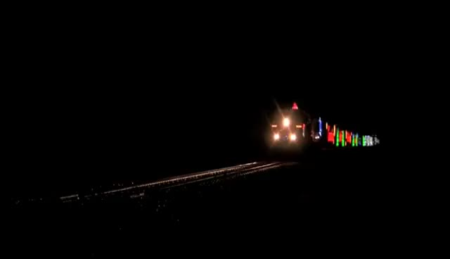 Watch and share The Canadian Pacific Holiday Train Lights Up The Night [HD] GIFs on Gfycat