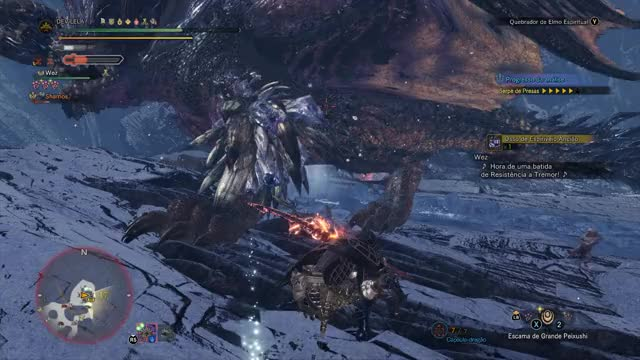 Watch and share Iceborne GIFs and Mhw GIFs by DEViLELA on Gfycat