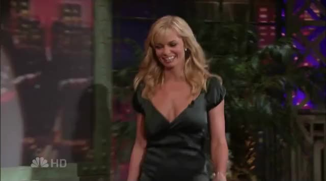Watch and share Jaime Pressly GIFs and Jay Leno GIFs by smoopy on Gfycat