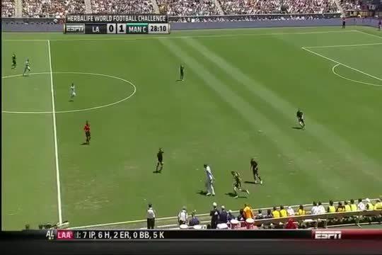 Mario Balotelli Miss Against LA Galaxy GIFs