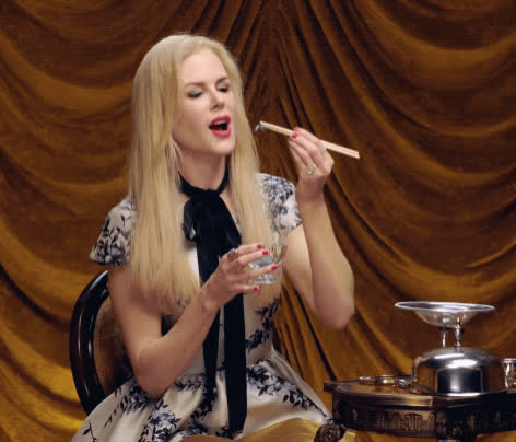 bugs, eating bugs, nicole kidman, secret talent, vanity fair, Nicole Kidman Eats Bugs | Secret Talent Theatre | Vanity Fair GIFs