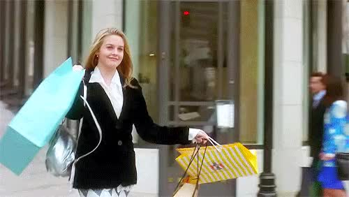 Watch and share Clueless Shopping GIFs on Gfycat