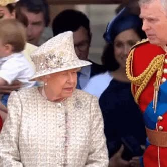 Watch and share Queen Elizabeth GIFs and Meghan Markle GIFs on Gfycat