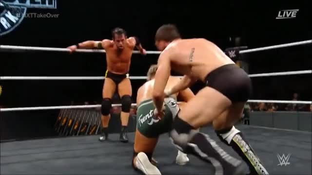 Watch Roderick Strong and Kyle O'Reilly(Undisputed Era) - Total Elimination GIF by Luis Fernando de Oliveira (@ddbooking) on Gfycat. Discover more Sports, SquaredCircle, wrestling, wwemoves103 GIFs on Gfycat