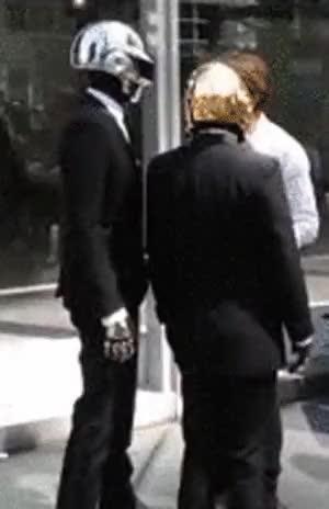 Watch and share Thomas Bangalter GIFs and Daft Punk GIFs on Gfycat
