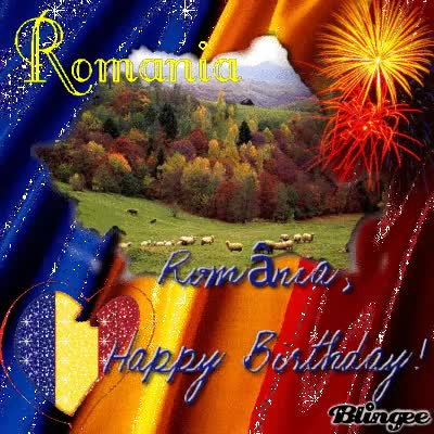 Watch and share Happy Birthday Romania!!!La Multi Ani România!!! GIFs on Gfycat