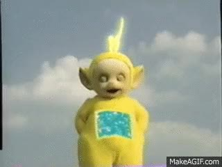 Watch and share Teletubbies Lala GIFs on Gfycat