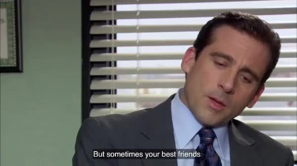 Watch and share Michael Scott GIFs and Best Friend GIFs by Pete Brown on Gfycat