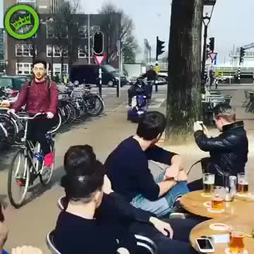 amsterdam, neulich, Dont try this shit at hoooooome! GIFs