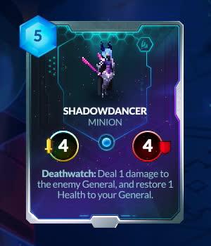 ccg, duelyst, Prismatic Shadowdancer GIFs