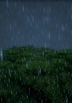 Watch gif gaming rain minecraft Roofed Forest lil better GIF on Gfycat. Discover more related GIFs on Gfycat