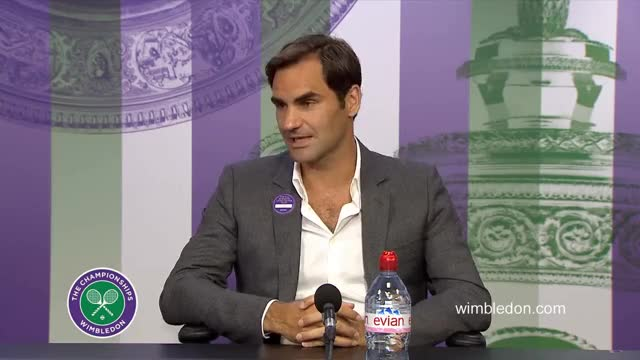 Watch Blushing GIF on Gfycat. Discover more federer, interview, sport, tennis, wimbledon GIFs on Gfycat