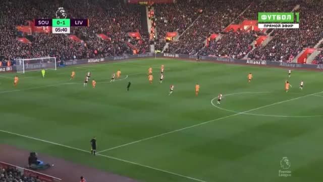 Watch and share Roberto Firmino Goal HD - Southampton 0-1 Liverpool 11.02.2018 GIFs on Gfycat