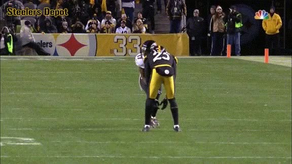 Watch and share Burns-pi-wallace-steelers-ravens GIFs on Gfycat