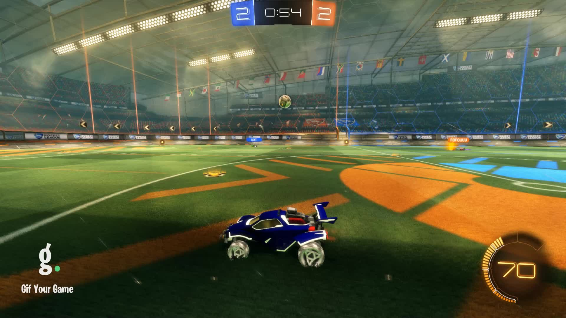 Gif Your Game, GifYourGame, Goal, Horizon, Rocket League, RocketLeague, Goal 5: Horizon GIFs
