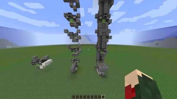 Minecraft Slimeblock Elevator Gif Find Make Share Gfycat Gifs