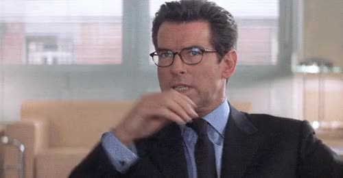 Watch and share Pierce Brosnan GIFs and James Bond GIFs on Gfycat