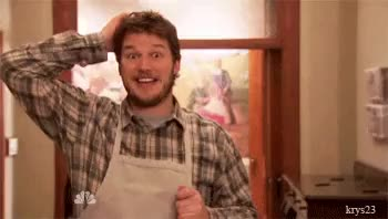 Watch and share Parks And Recreation Andy Dwyer GIFs on Gfycat