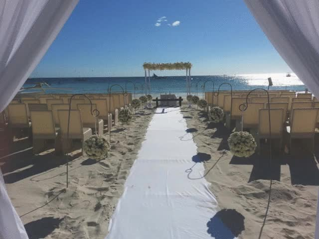 Watch and share Beach Destination Wedding In The Philippines GIFs on Gfycat