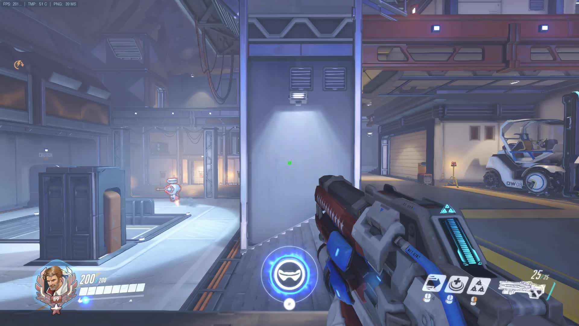 Soldier 76 Dynamic Square Crosshair Boxhair Overwatch