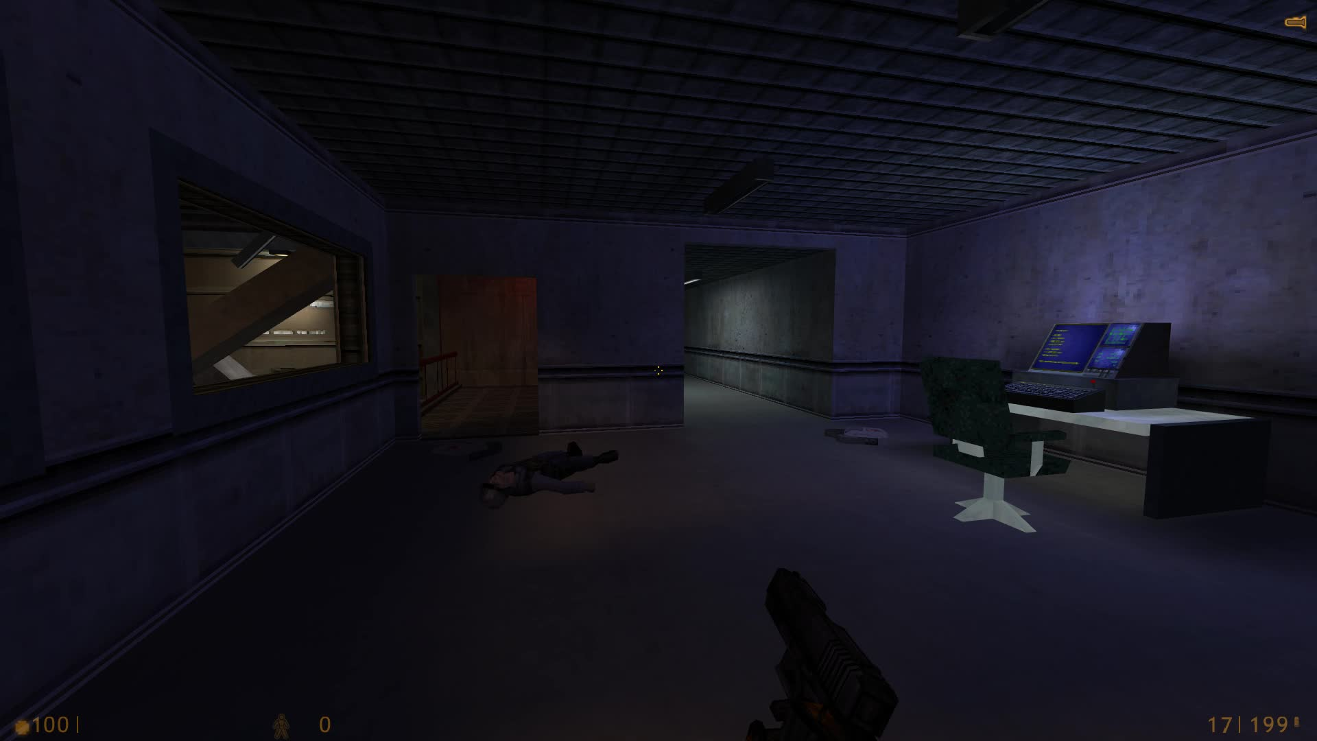 HalfLife, HL1 - killed enemies disappear on Forget About Freeman level (reddit) GIFs