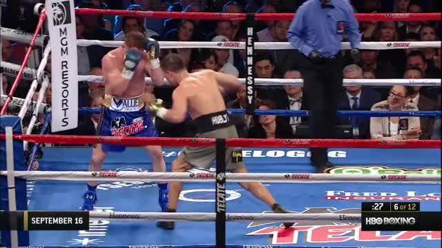 Watch HBO Boxing's Best 2017: Canelo vs. Golovkin GIF on Gfycat. Discover more 2017, Canelo Alvarez, Chocolatito, Gennady Golovkin, HBO Boxing, HBO Pay-Per-View, Miguel Cotto, PPV, Sadam Ali, Sor Rungvisai, boxing GIFs on Gfycat