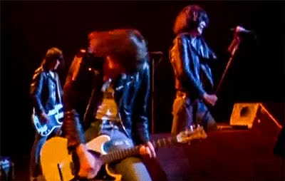 Watch and share Ramones I Don T Care GIFs on Gfycat
