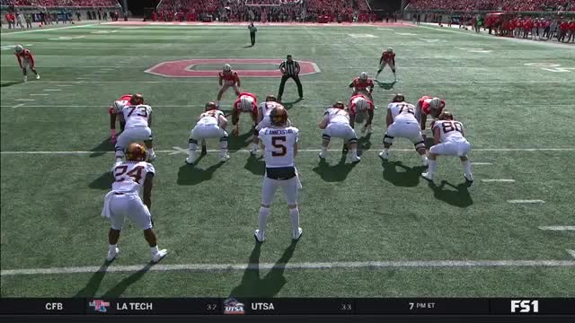 Watch and share Dre'mont Jones Vs GIFs and College Football GIFs on Gfycat