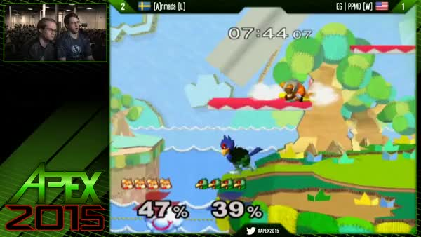 Watch [Falco] PPMD covers Armada's shine stall. (reddit) GIF on Gfycat. Discover more smashgifs GIFs on Gfycat