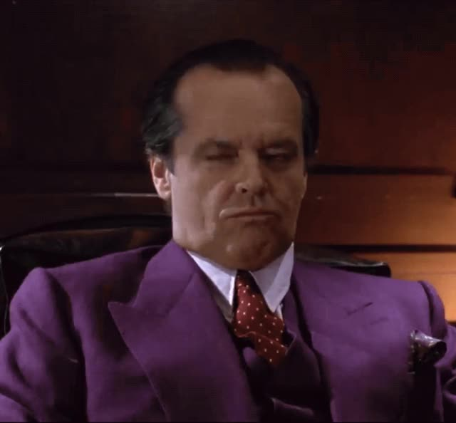 Watch and share Jack Nicholson GIFs by Reactions on Gfycat