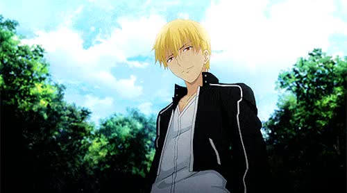 Watch and share Fate Stay Night Ubw GIFs and Gilgamesh GIFs on Gfycat