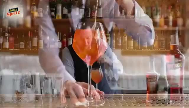 Watch Sådan laver du en Aperol Spritz GIF on Gfycat. Discover more related GIFs on Gfycat