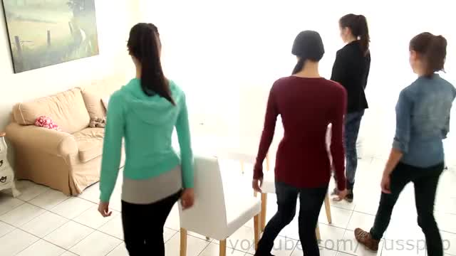 Watch 4 Girl Chair Trick! GIF on Gfycat. Discover more amazing, awesome, brasspup, brusspup, brussup, chair, cool, party, trick, unreal GIFs on Gfycat