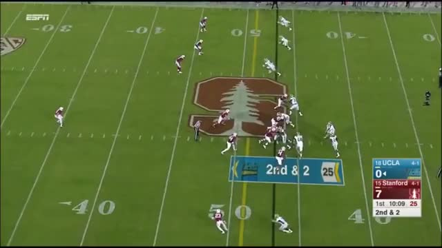 Watch and share Ucla Vs Stanford GIFs and Paul Perkins GIFs on Gfycat