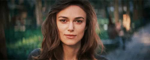 Watch and share Keira Knightley GIFs and Smiling GIFs on Gfycat