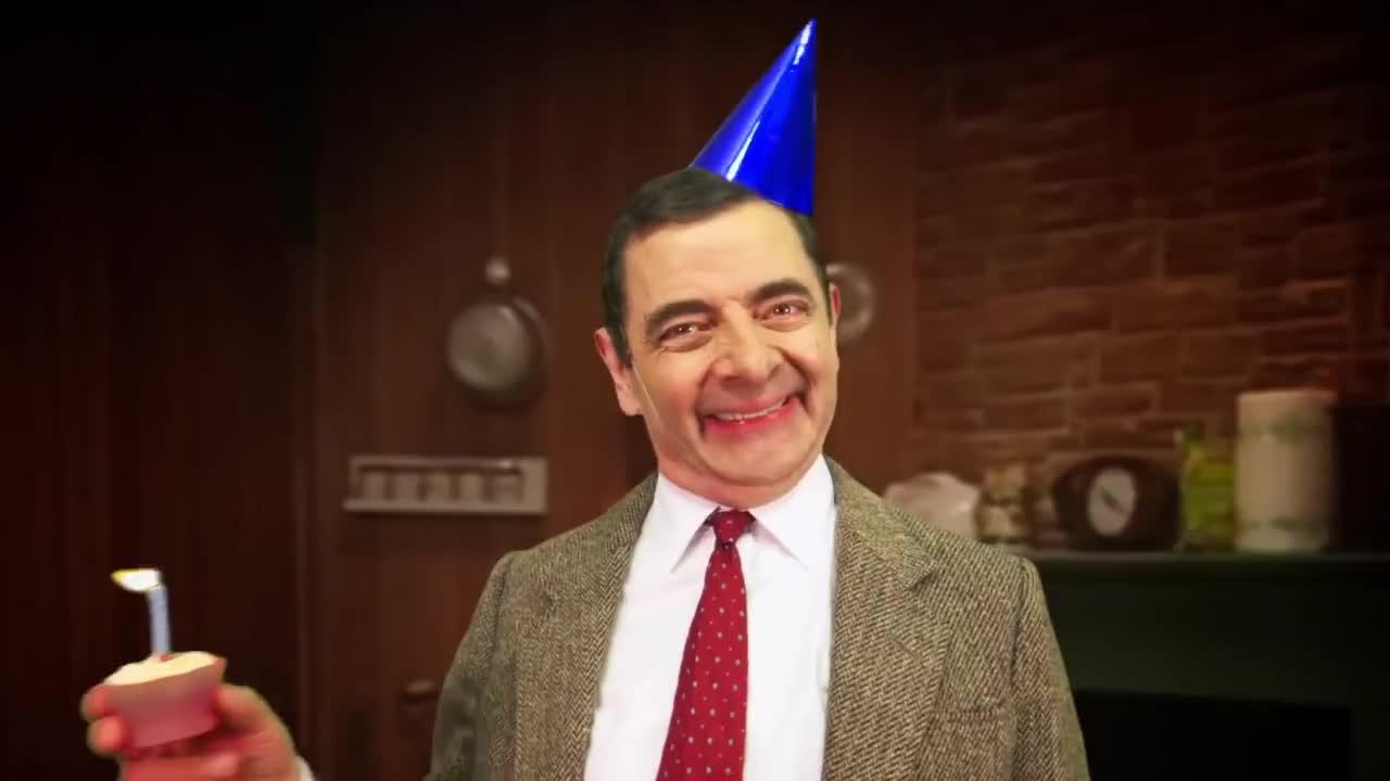 Recipe, bean, mr, recipes, Birthday Cake | Handy Bean | Mr Bean Official GIFs