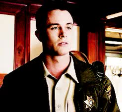 Watch and share Jordan Parrish GIFs and Lydia Martin GIFs on Gfycat