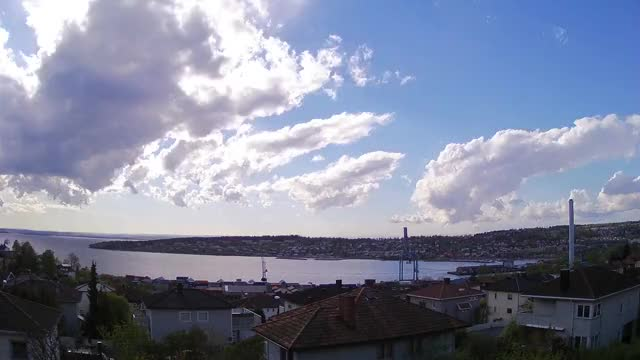 Watch Passing storm in Norway. Time lapse from my old weathercam (reddit) GIF on Gfycat. Discover more weathergifs GIFs on Gfycat