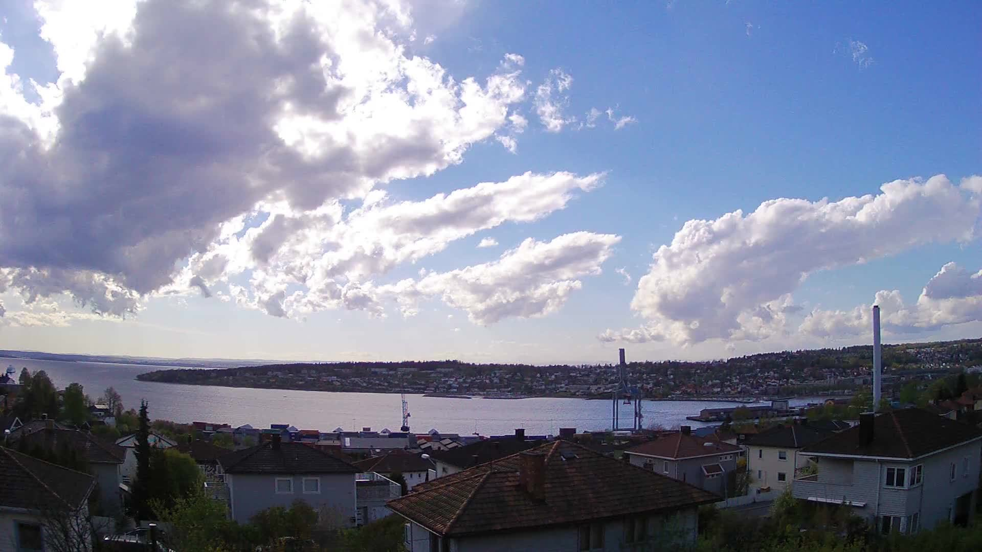 weathergifs, Passing storm in Norway. Time lapse from my old weathercam (reddit) GIFs