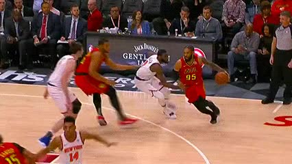 Watch DeAndre' Bembry — Atlanta Hawks GIF by Off-Hand (@off-hand) on Gfycat. Discover more 021419 GIFs on Gfycat