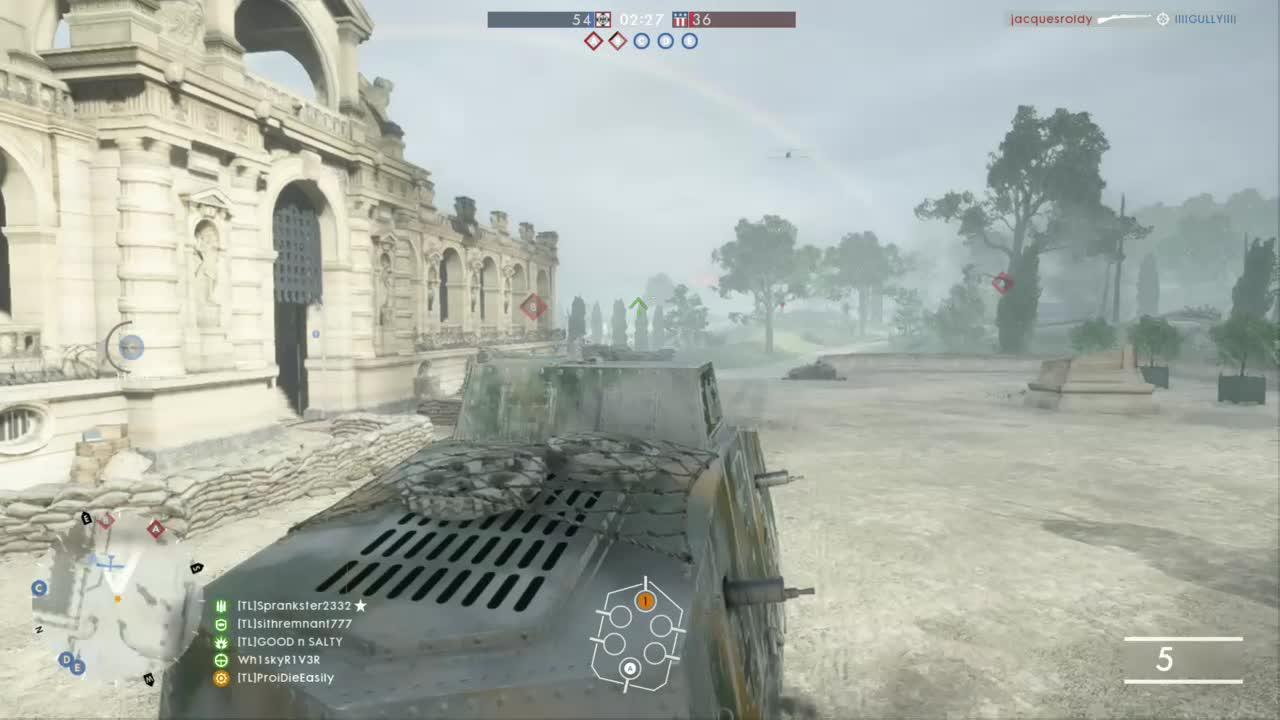 battlefield, battlefield_one, bf1, xbox, Battlefield One - Tank Killed Plane GIFs