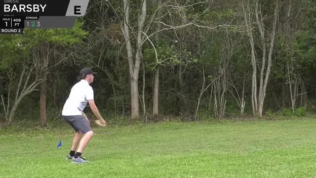 Watch Quarterfinals 2018 DGPT Championship - Gregg Barsby hole 1 putt GIF by Benn Wineka UWDG (@bennwineka) on Gfycat. Discover more big jerm, big sexy, dgpt, disc golf, disc golf pro tour, jeremy koling, nikko, nikko locastro, pdga, uli GIFs on Gfycat