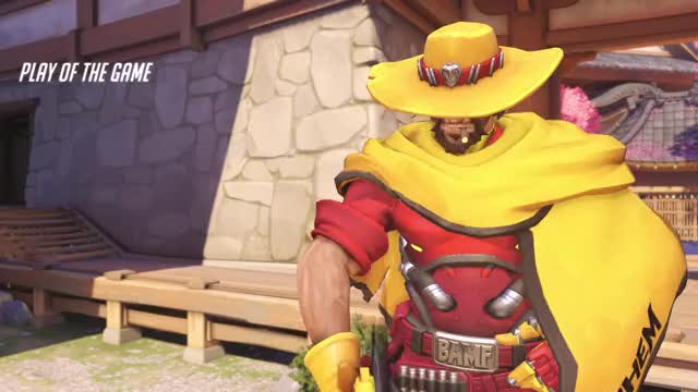 Watch and share Overwatch GIFs and Mccree GIFs by t3hg00se on Gfycat